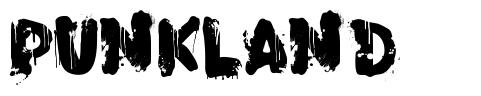 PunkLand フォント