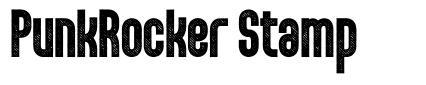 PunkRocker Stamp font