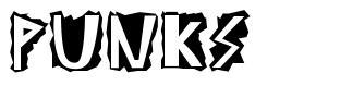 Punks font