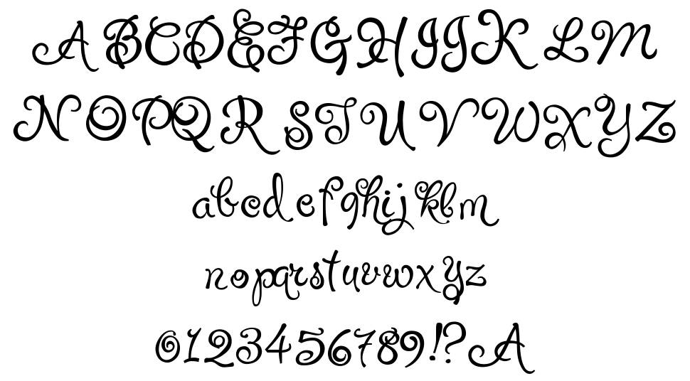 Puppy Pooky font
