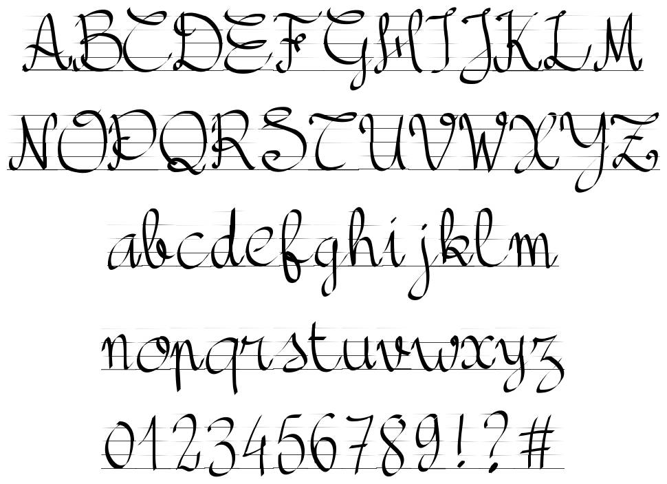 PW Back to School font