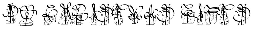 PW Christmas Gifts font