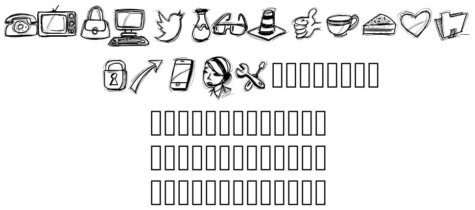 PW Icons font