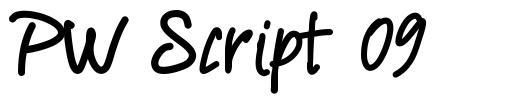 PW Script 09