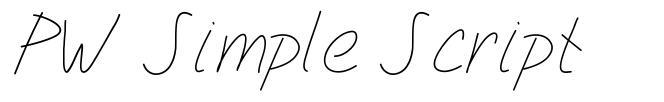 PW Simple Script