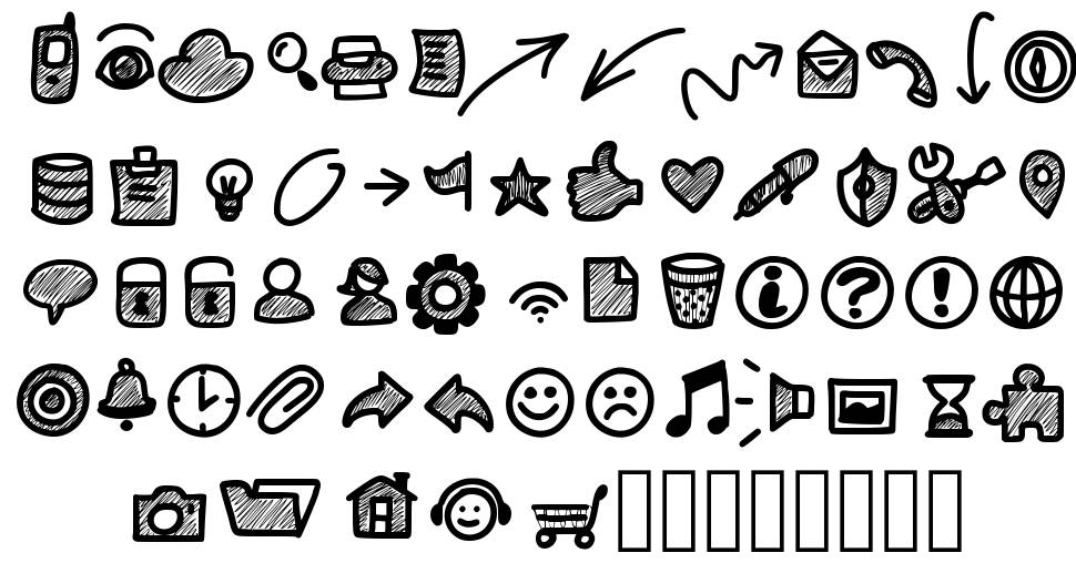 PW Small Icons font