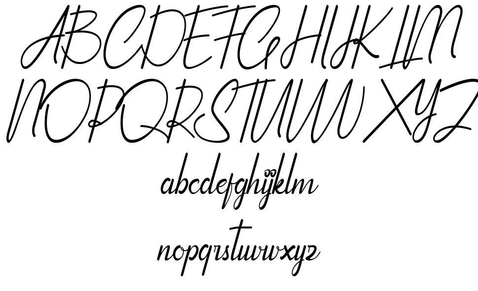 Qhinanttika font