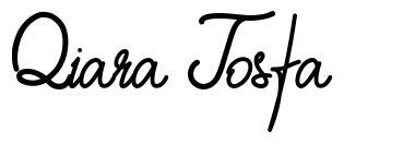 Qiara Tosfa шрифт
