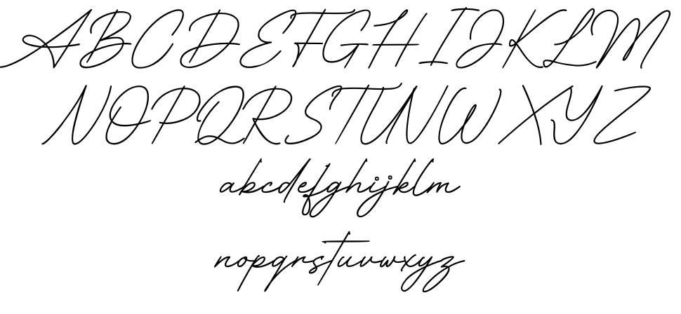 Queen Mother font