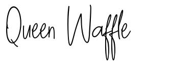 Queen Waffle font