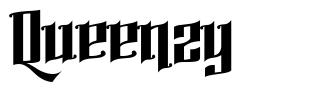 Queenzy font