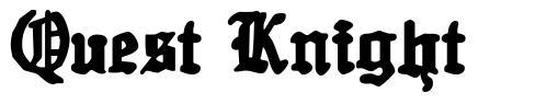 Quest Knight font
