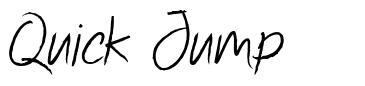Quick Jump font
