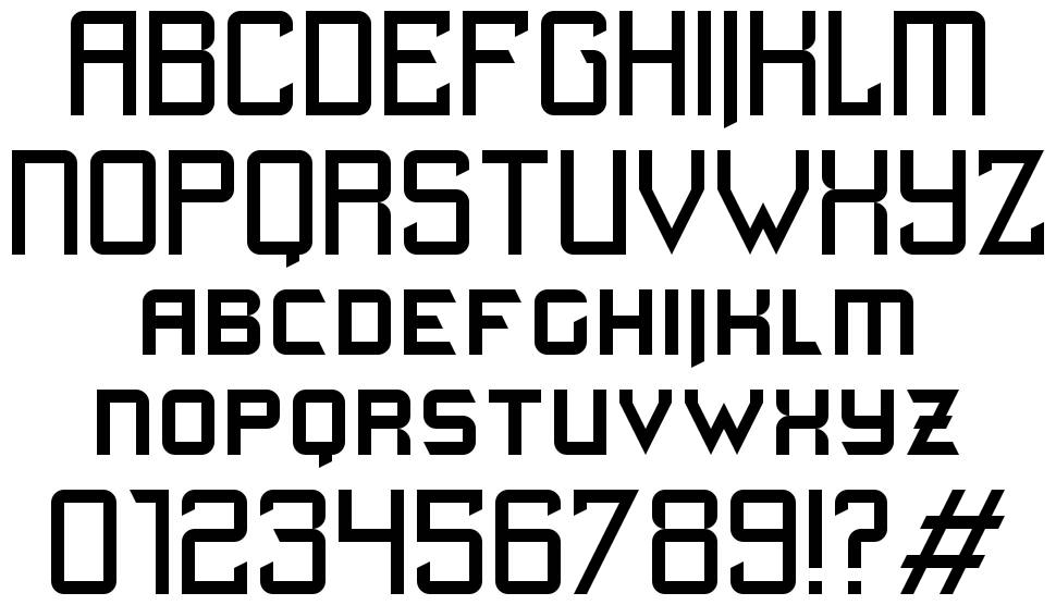 Quick Junky font