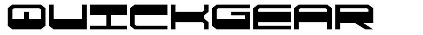 QuickGear 字形