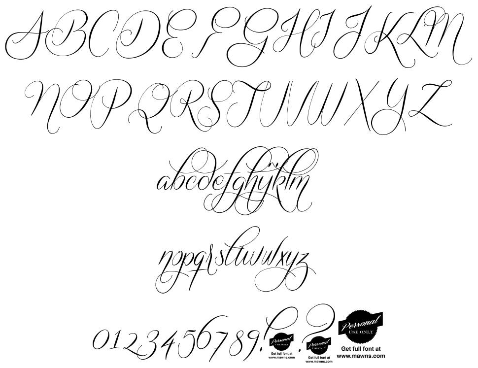 Quickier font