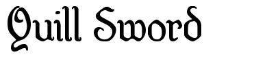 Quill Sword font