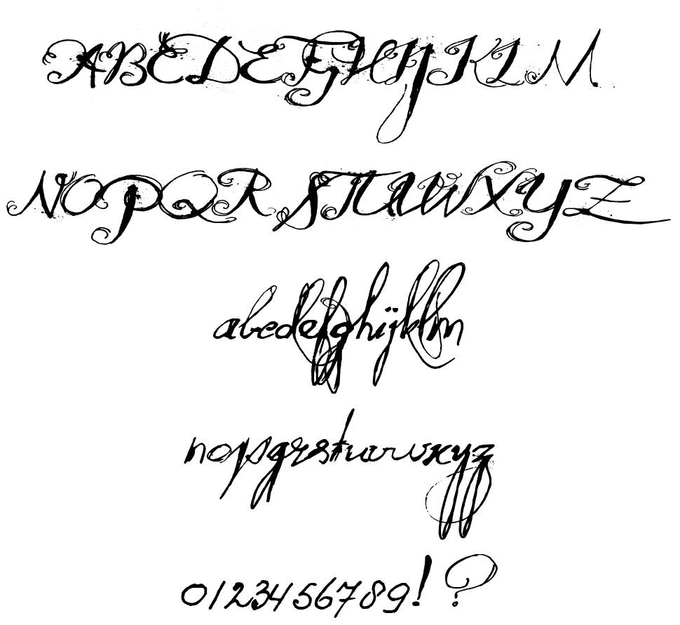 Quilted Butterfly font