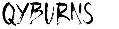 Qyburns písmo