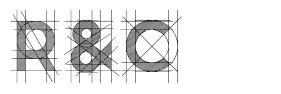 R&C шрифт