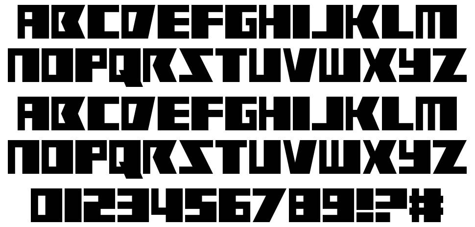 Rabbit Fire font