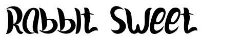 Rabbit Sweet font