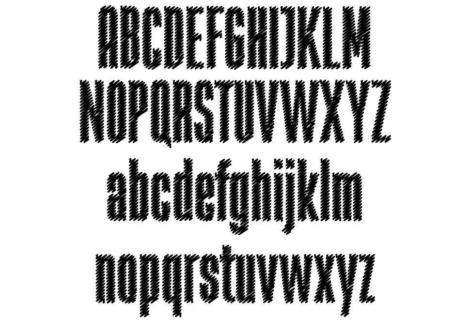 Rabiosa font