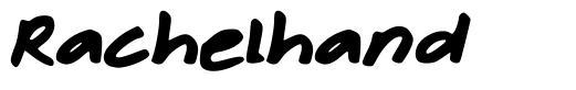 Rachelhand font