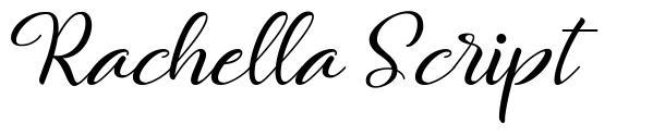 Rachella Script