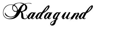 Radagund 字形