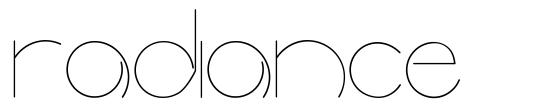 Radiance font