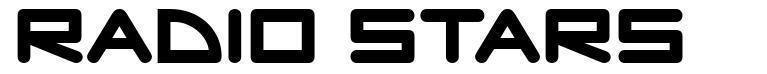Radio Stars шрифт