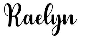 Raelyn font