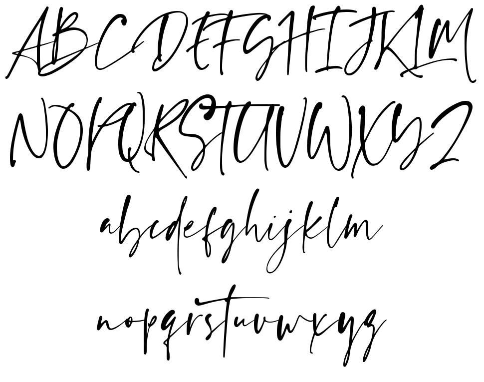 Ragland font