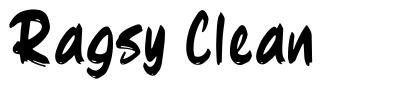 Ragsy Clean font