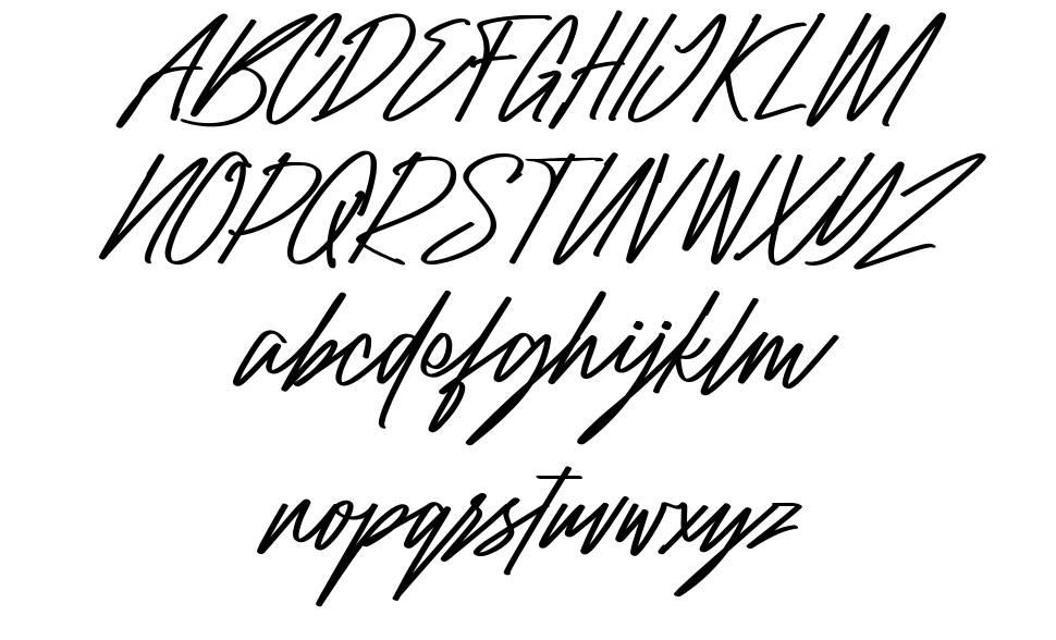 Raidden шрифт