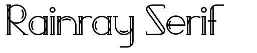 Rainray Serif font