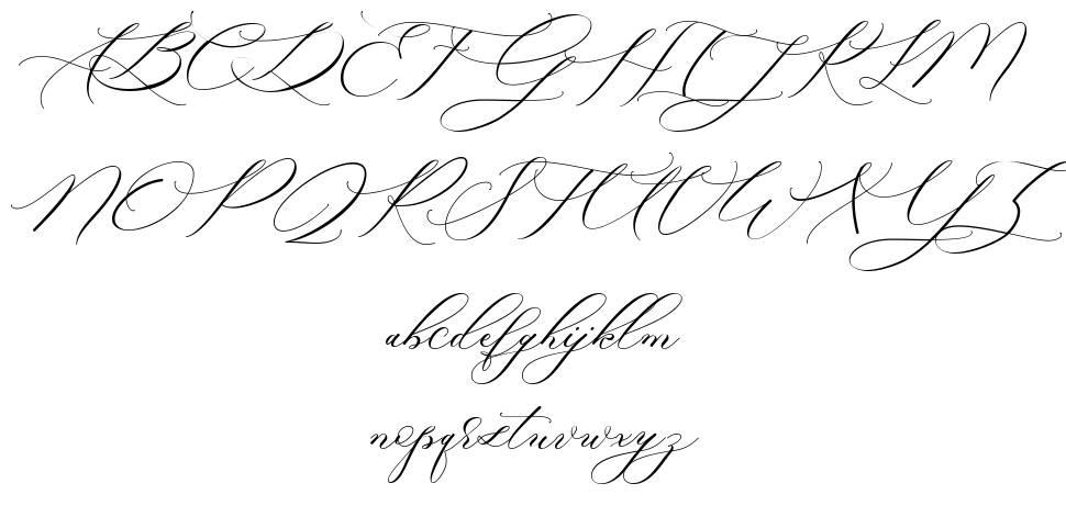 Raja Ampat Script font
