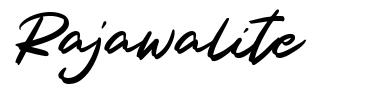 Rajawalite font