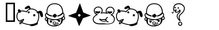 Rakugaki font