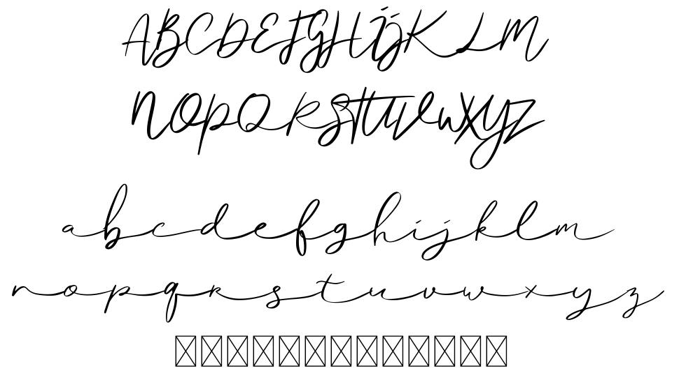 Ralisto шрифт
