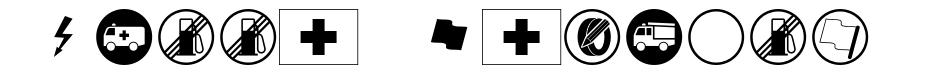 Rally Symbols font