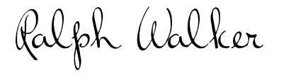 Ralph Walker