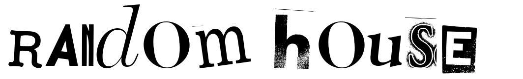 Random House font