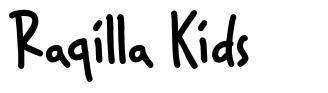 Raqilla Kids font