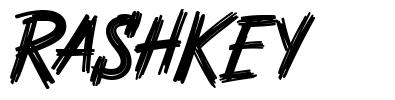 Rashkey font