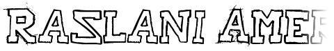 Raslani American Letters
