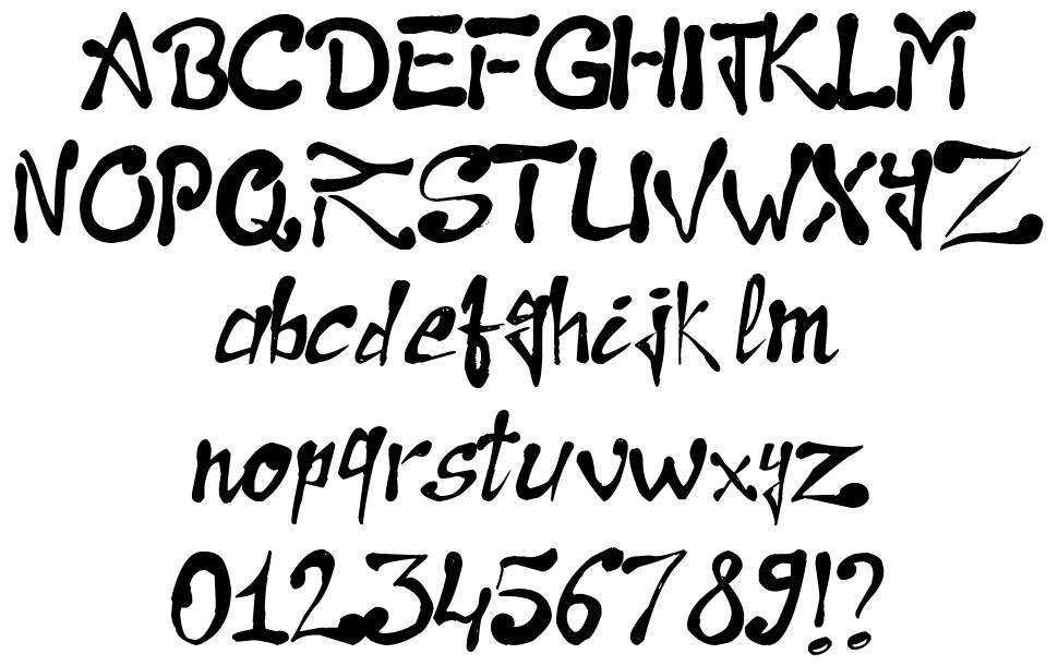 Raslani the Pharaoh font