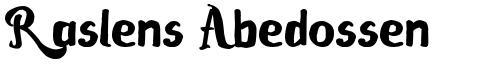 Raslens Abedossen