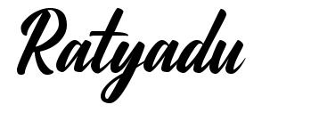 Ratyadu font